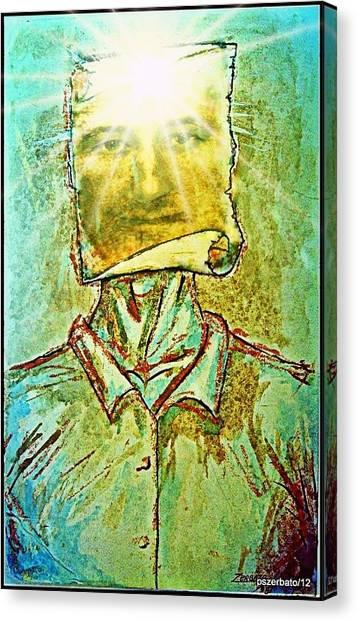 Knowledge Is Power Canvas Print by Paulo Zerbato