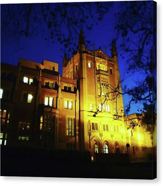 Ucla Canvas Print - Knowledge Is Power #mobileprints #ucla by Sunny White