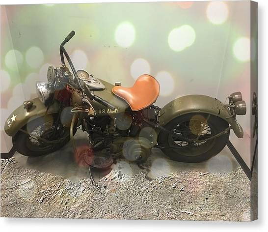 Knucklehead Canvas Print by Chris Hartwell