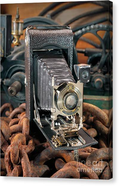 Kodak No. 3a Autographic Camera Canvas Print