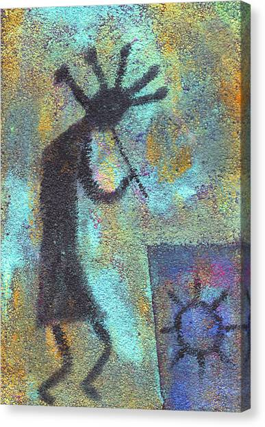 Kokopeli Canvas Print