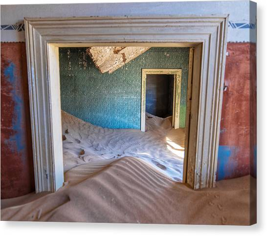Canvas Print featuring the photograph Kolmanskop 1 by Rand
