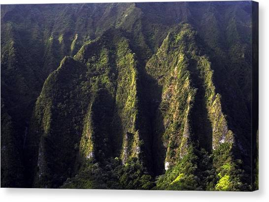 Koolau Range, Oahu Canvas Print