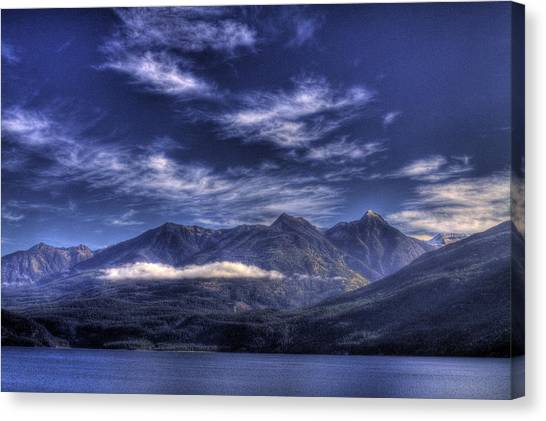 Kootenai Lake Bc Version 2 Canvas Print