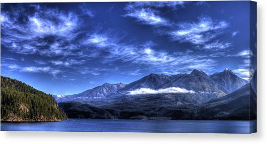 Kootenai Lake From Kaslo Canvas Print