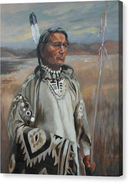 Kootenay Chief Canvas Print