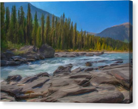 Kootenay River Canvas Print