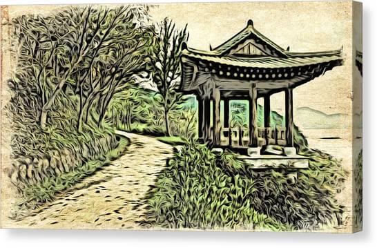 Korean Architecture Canvas Print