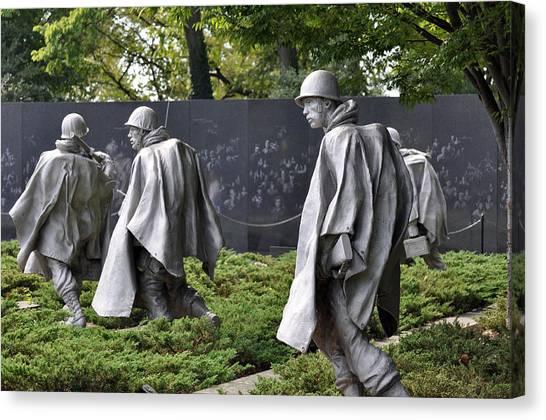 Korean War Memorial 3 Canvas Print