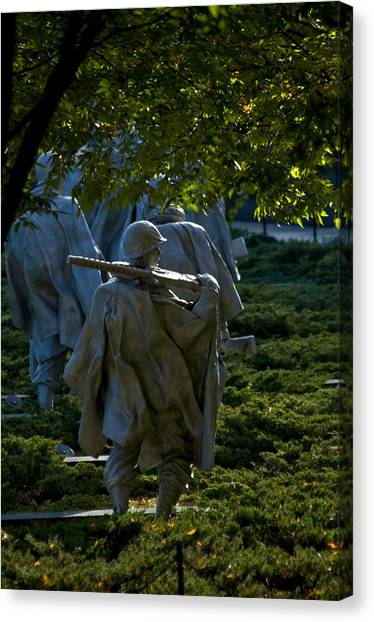 Korean War Memorial Canvas Print