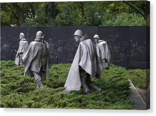 Korean War Veterans Memorial Canvas Print
