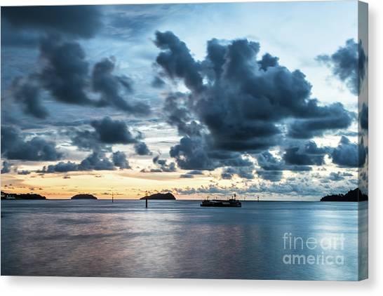 Kota Kinabalu Sunset Canvas Print