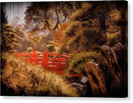 Kowloon - Red Bridge Canvas Print