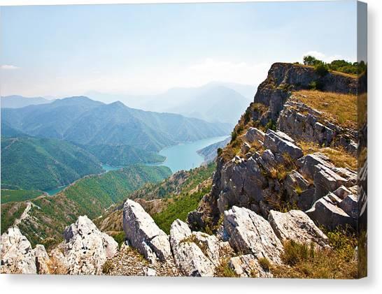 Kozjak Mountain 1 Canvas Print by Marjan Jankovic