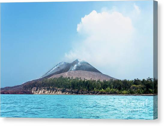 Krakatoa Canvas Print - Krakatoa Mountain by Andy Maryanto