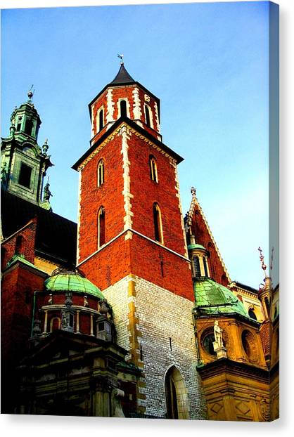 Krakow Poland Canvas Print