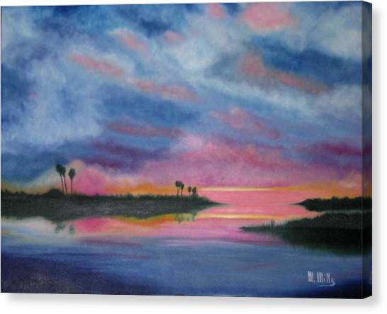 Kramer Island Sunset Canvas Print