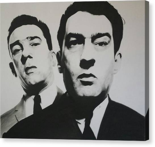 Reggie White Canvas Print - Krays by Jimmy Chard