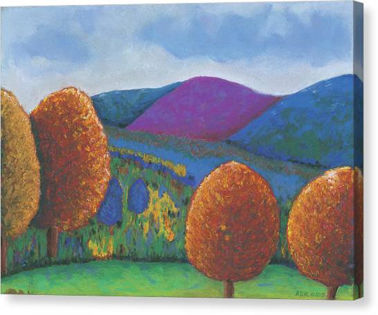 Kripalu Autumn Canvas Print
