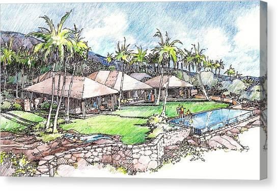 Kukio Home Canvas Print
