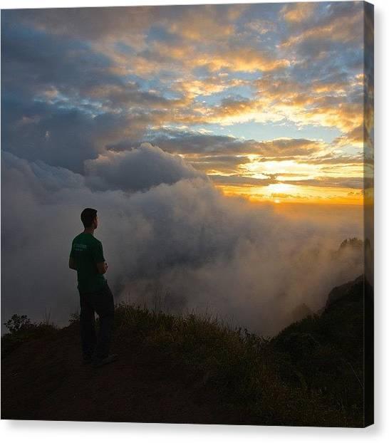 Hawaii Canvas Print - Kuliouou Summit, #oahu #hawaii 1/17/15 by Brian Governale