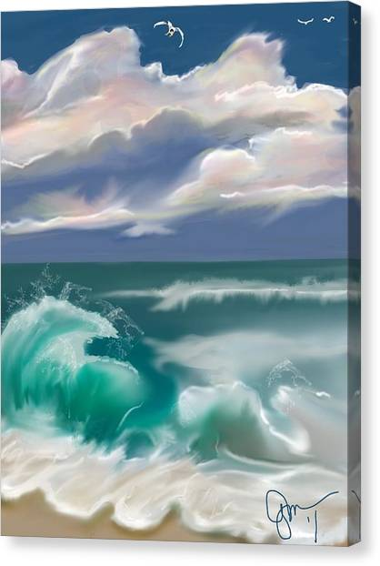 Kure Beach Canvas Print