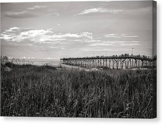Kure Beach Pier Canvas Print