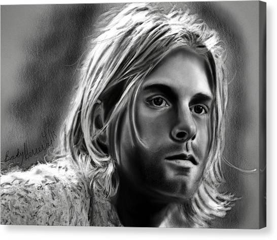 Kurt Cobain- Nirvana Canvas Print