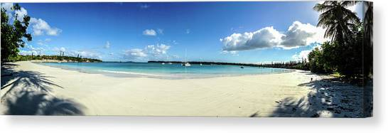 Kuto Bay Morning Pano Canvas Print