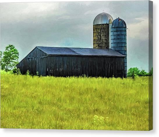 Canvas Print - Ky Barn by Elijah Knight