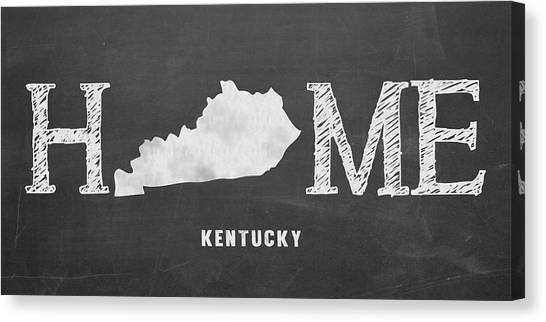 University Of Kentucky Canvas Print - Ky Home by Nancy Ingersoll