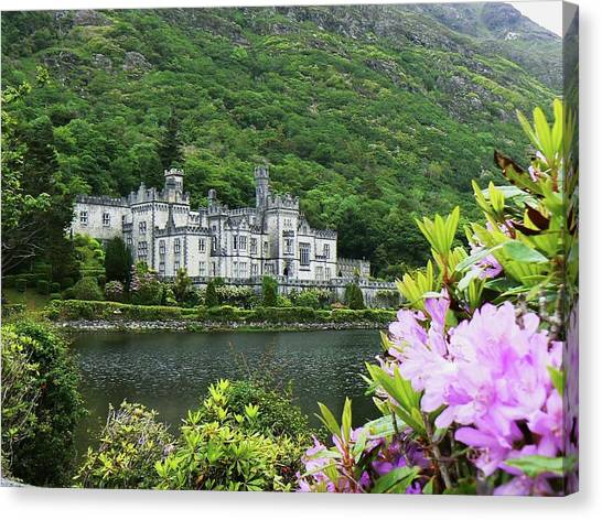 Kylemore Abbey Co Galway Canvas Print