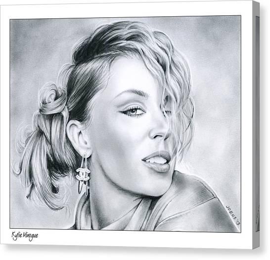 Australian Canvas Print - Kylie Minogue by Greg Joens