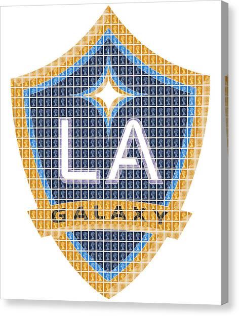 La Galaxy Canvas Print - L A Galaxy by Gary Hogben