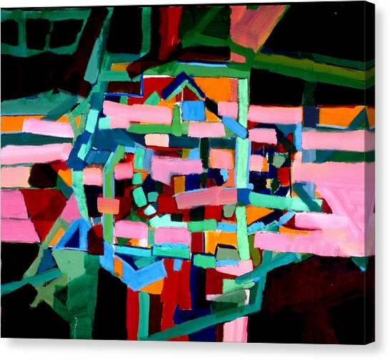 L A Landscape Canvas Print by Paul Freidin