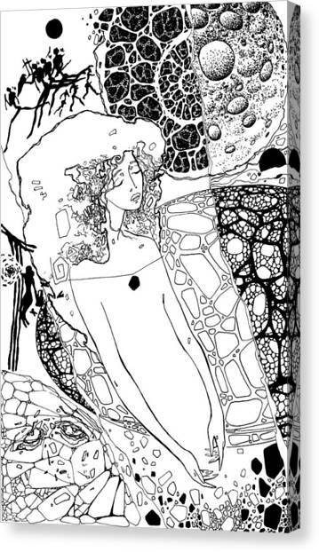 Mavlo Canvas Print - La 1 by Valeriy Mavlo