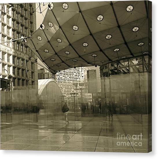 La Defense Canvas Print
