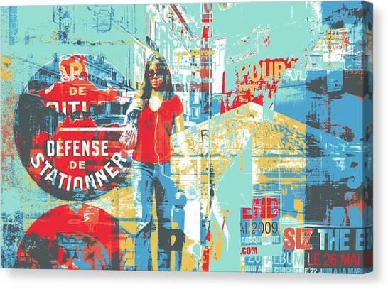 La Defense Canvas Print by Shay Culligan