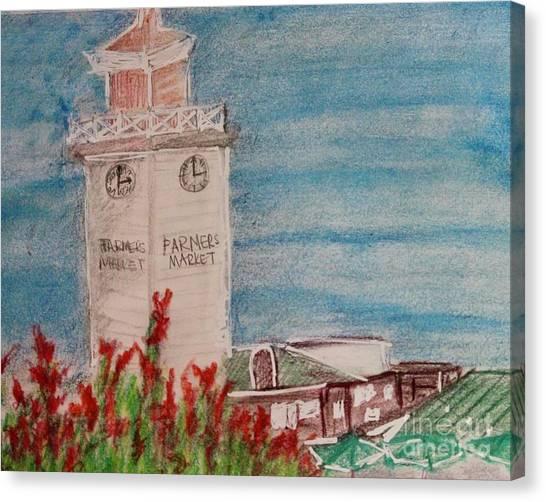 La Farmer's Market Canvas Print