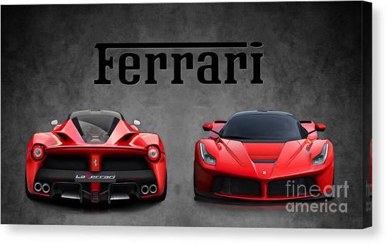 La Ferrari. Canvas Print