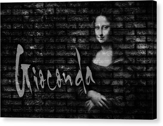 Rennaissance Art Canvas Print - La Gioconda by Totto Ponce