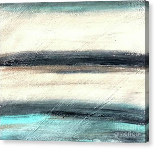La Jolla #1 Seascape Landscape Original Fine Art Acrylic On Canvas Canvas Print