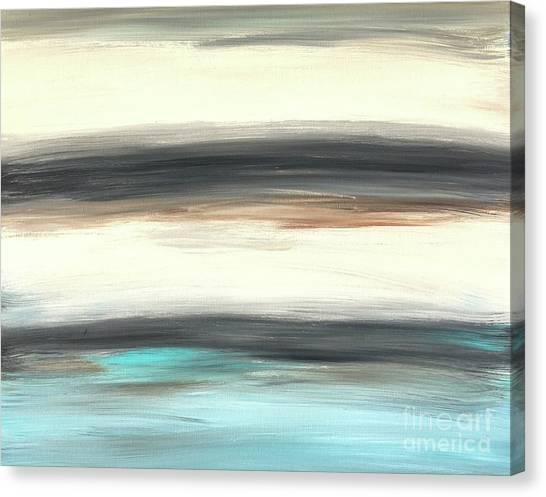 La Jolla #2 Seascape Landscape Original Fine Art Acrylic On Canvas Canvas Print