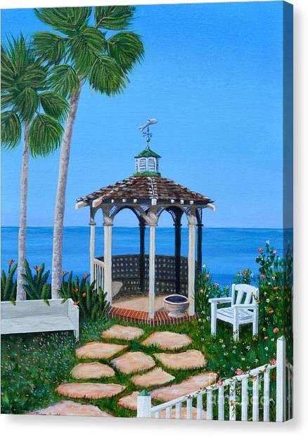 La Jolla Garden Canvas Print
