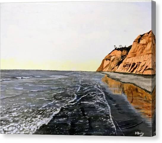 La Jolla Shoreline Canvas Print