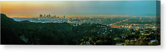 Mountain Ranges Canvas Print - La La Land by Az Jackson