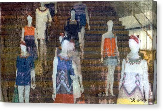 La Ladies Canvas Print
