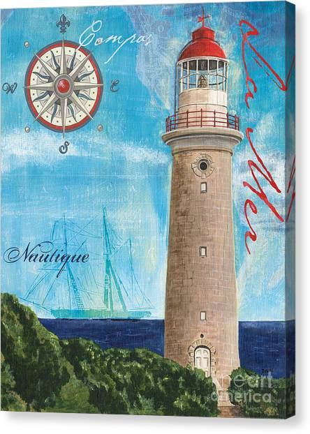 Lighthouses Canvas Print - La Mer by Debbie DeWitt