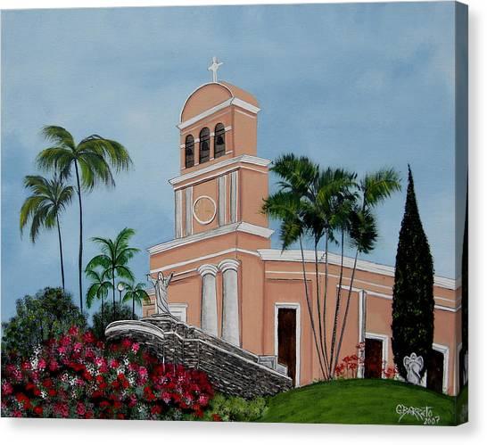 La Monserrate  Canvas Print
