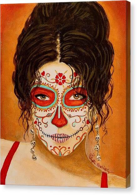 La Muerte Elegante Canvas Print